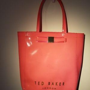 Ted Baker vinyl tote